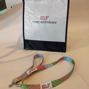 Vineyard Vines lanyard and reusable tote